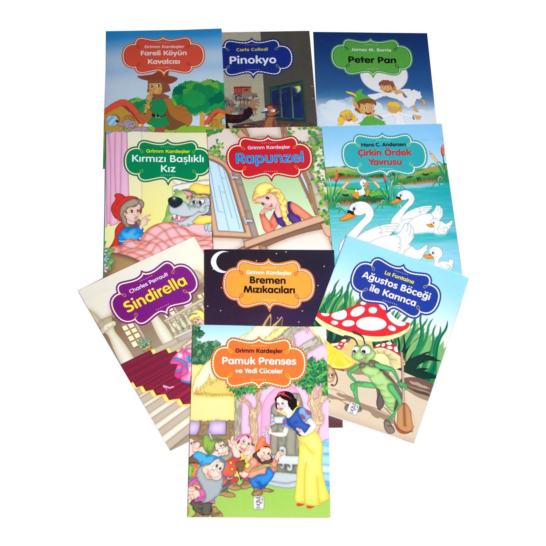 Renkli Dünya Çocuk Masalları Seti 10 Kitap