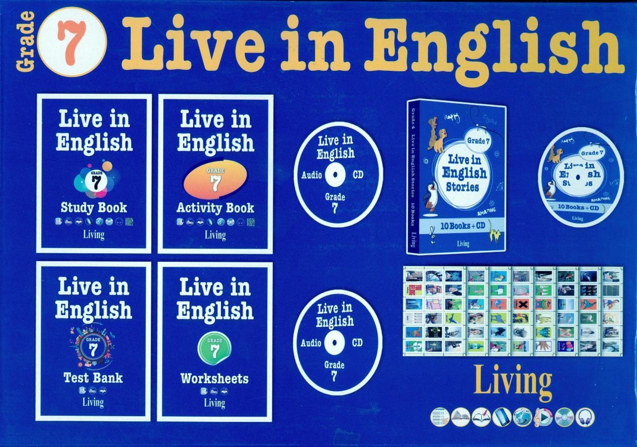Live in English Grade 7 İngilizce Eğitim Seti
