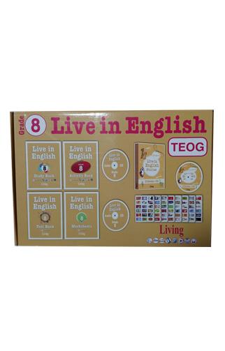 Live in English Grade 8 İngilizce Eğitim Seti